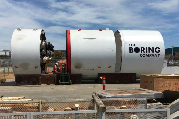 proposed LA tunnel system Elon Musk 3