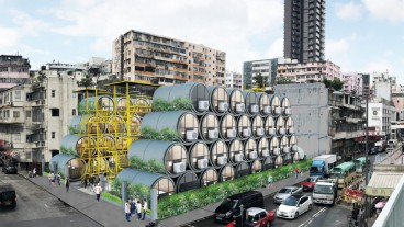 Flats hosted inside water pipes may be a solution to Hong Kong's housing crisis