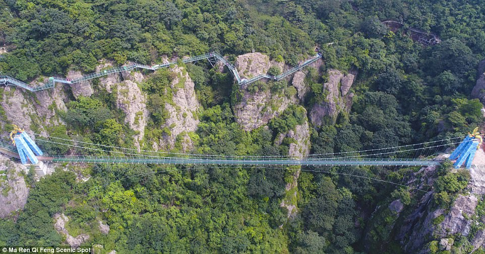 glass bridge China1