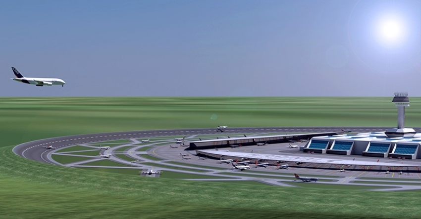 Could circular runways revolutionize air travel?