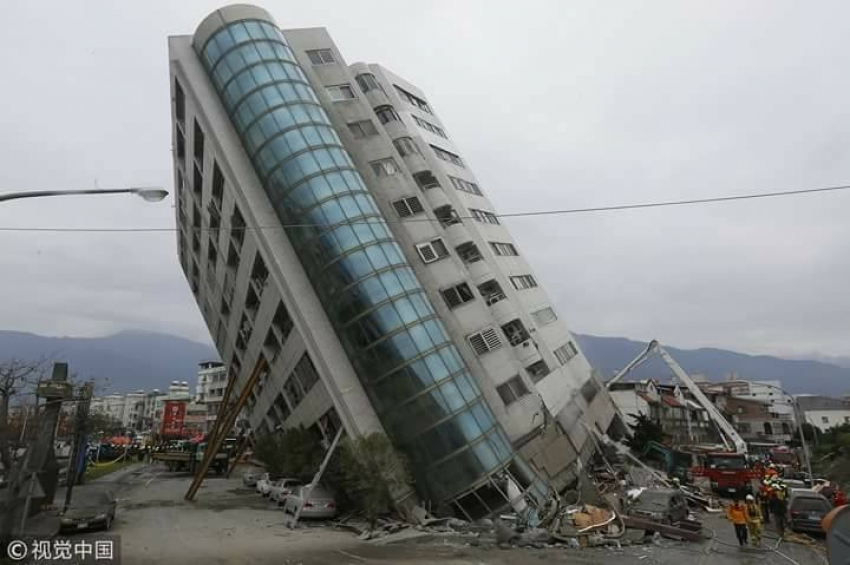 The 6.4-magnitude quake in Taiwan and the more than 100 reported aftershocks that rattled the region