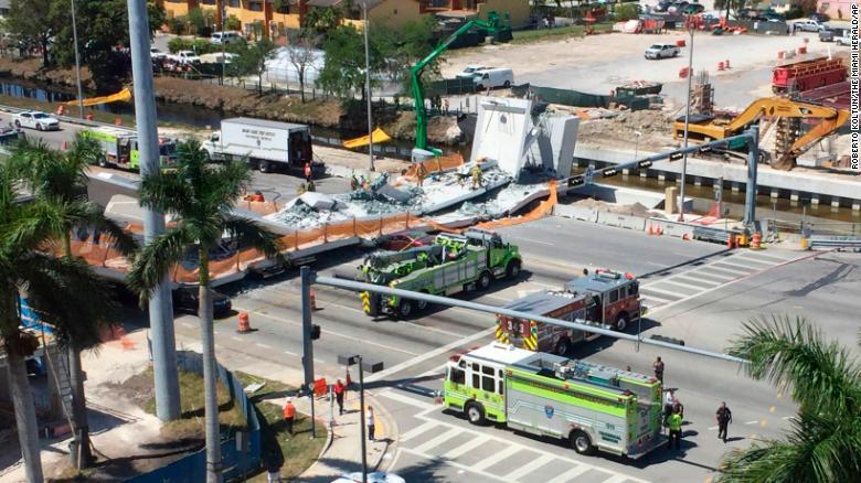 Florida bridge collapse 1