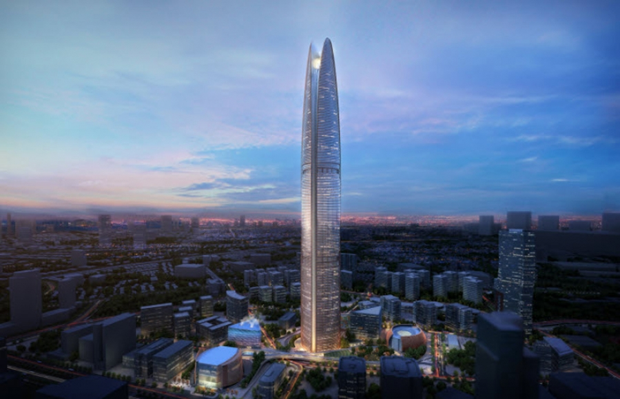 The Pertamina Tower will feature a wind funnel on its roof to generate energy
