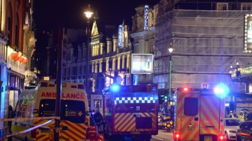 Emergency responders helped treat over 80 people wounded in the ceiling collapse