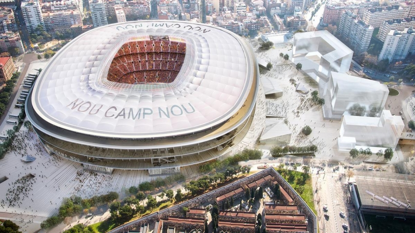 Mixed reality to design Barcelona Camp Nou stadium upgrade