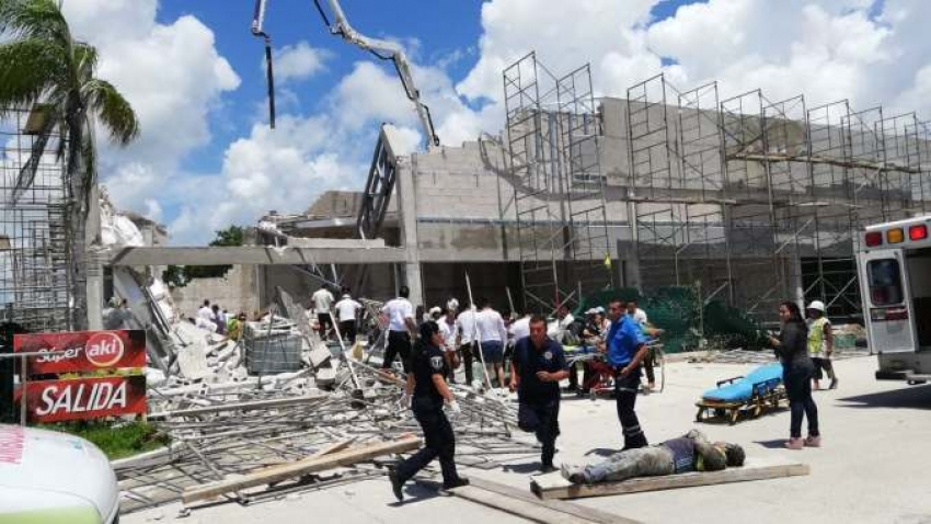 Puerto Morelos Building Collapse