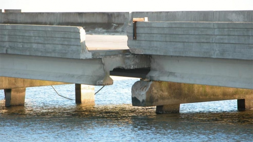 I 10 Bridge in Mobile Bay cannot withstand another massive typhoon