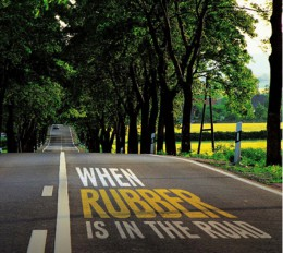When rubber is in the road-Source:Asphalt Magazine