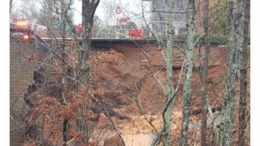 Holly Springs Target retaining wall collapse