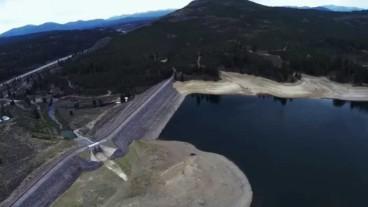 Boca dam in California