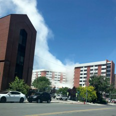 Building explosion at the University of Nevada-Source: ABCnews.com