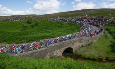 Grinton Moor bridge-Tour de France 2014