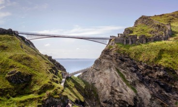The legendary Tintagel Castle Bridge is about to open