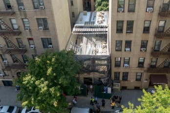 Building collapse in Bronx