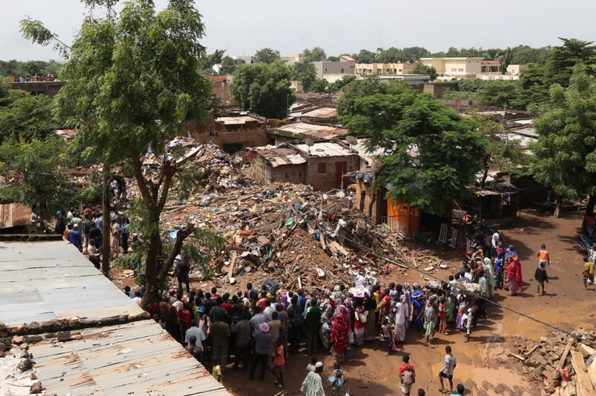 Building collapse in Mali: 15 people reported dead