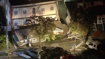 22 people injured after deck collapses in New Jersey