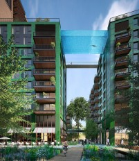 Spectacular sky pool set to open in London