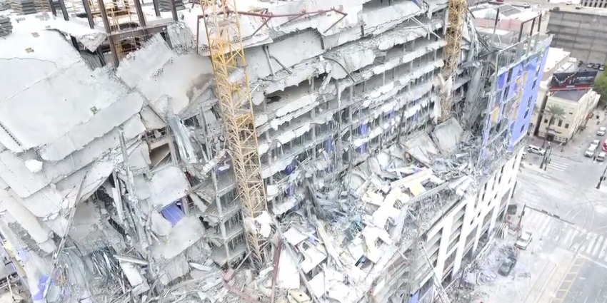 Hard Rock Casino hotel collapse