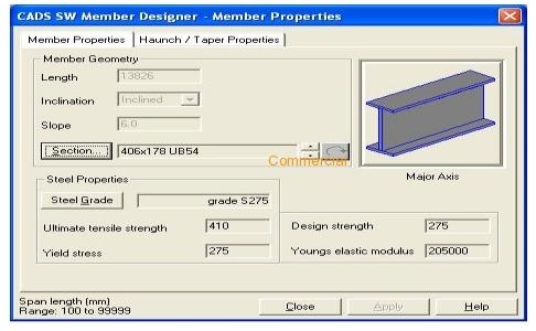 CADS SW Member Designer