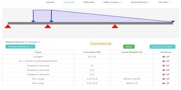 Optimal Beam (Structural Beam Calculator)