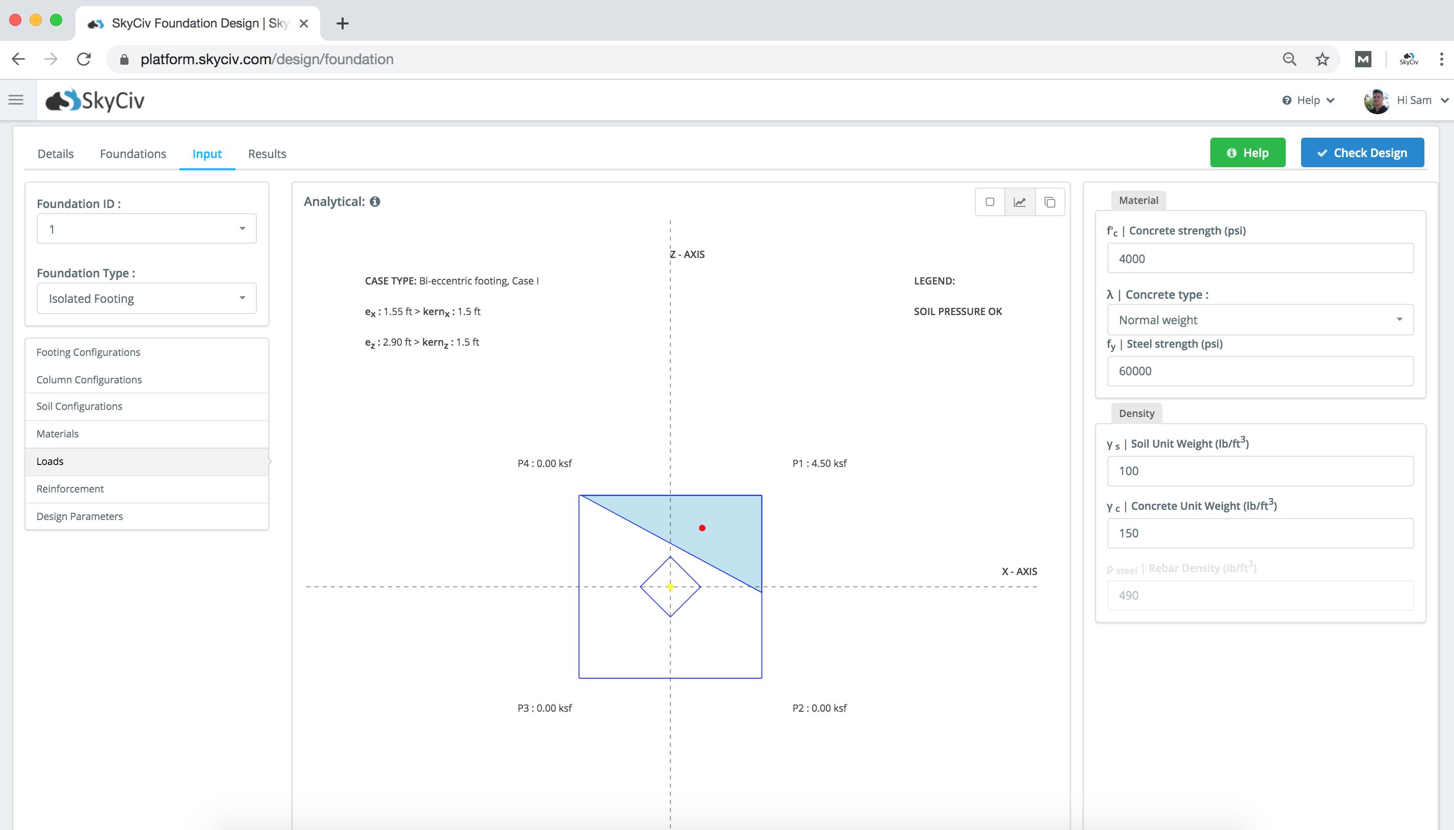 Skyciv Foundation Design Thestructuralengineer Info